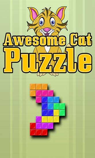 Awesome cat puzzle Screenshot