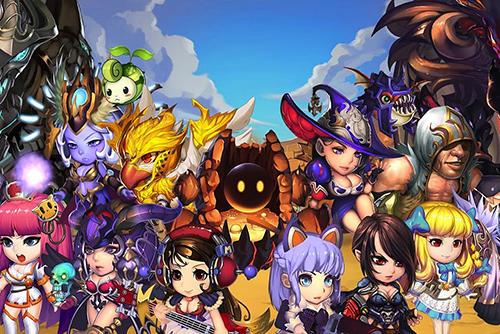 Strategische RPG-Spiele Super villain war: Lost heroes auf Deutsch