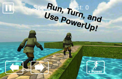 Arcade games: download Forest Run to your phone