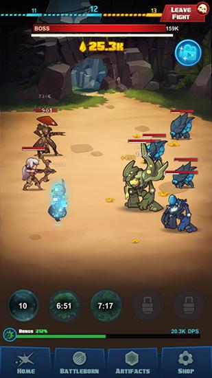 Arcade Battleborn tap für das Smartphone