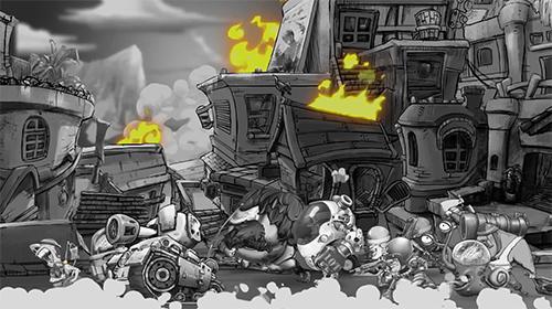 Metal defender: Battle of fire für Android