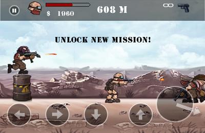 Screenshot Wüstenkrieger auf dem iPhone