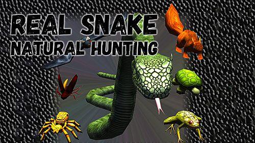 logo Serpent réel: Chasse naturelle