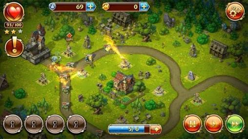 Strategiespiele: Lade Spielzeug Verteidigung 3: Phantasie auf dein Handy herunter