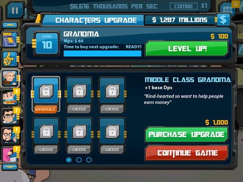 Clicker heroes: Guardians of the galaxy in Russian