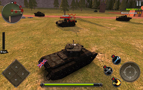 Action Tanks of battle: World war 2 for smartphone