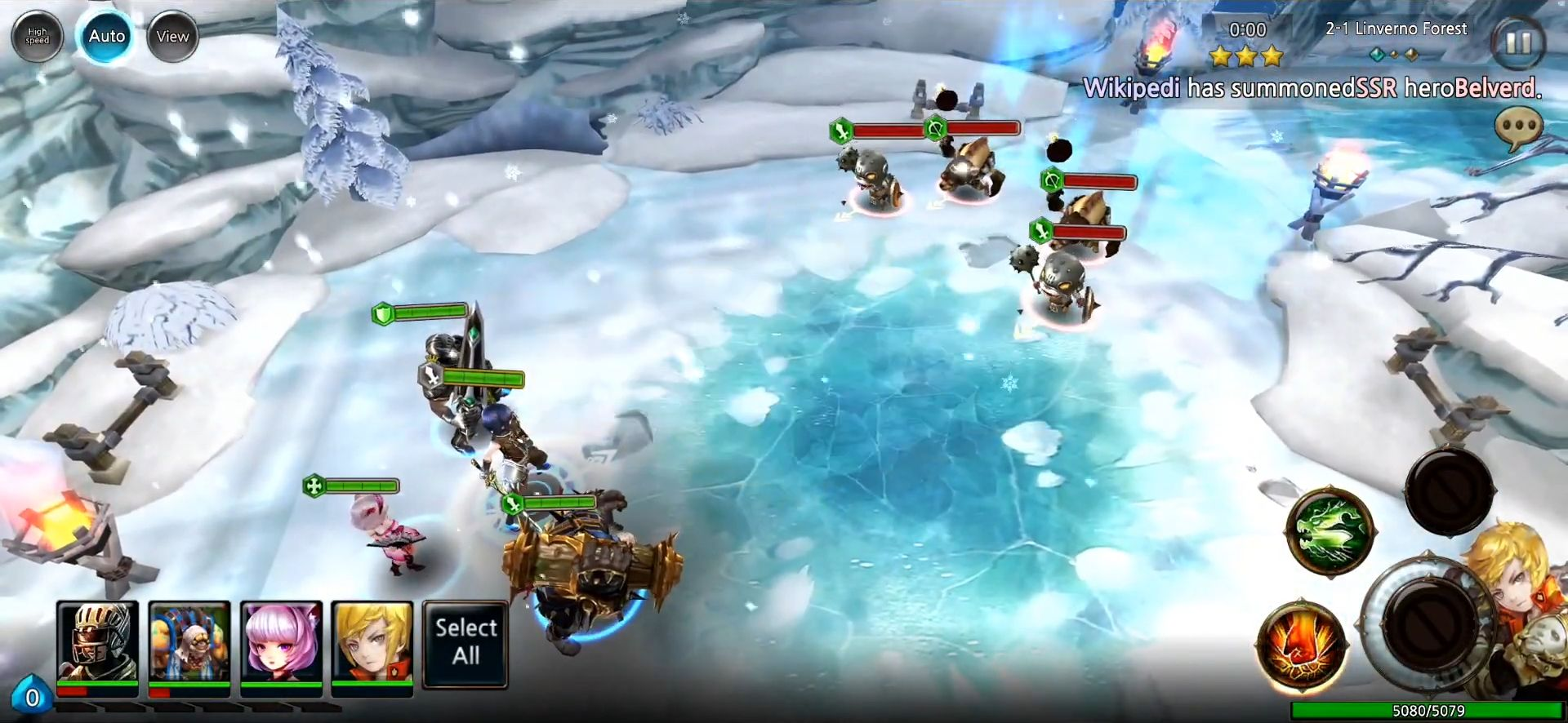 Heaven Saga screenshot 1