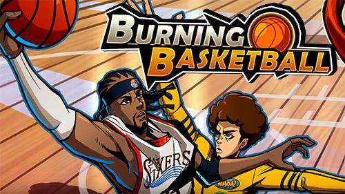 Burning basketball скриншот 1