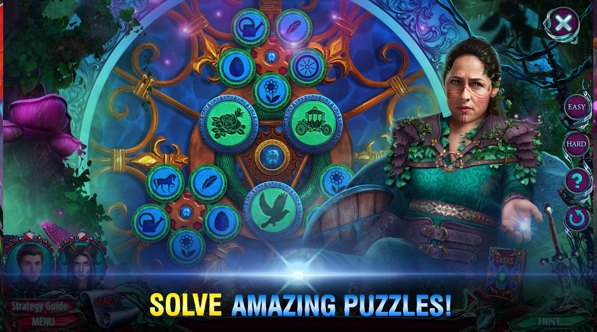 Hidden Object - Dark Romance: Ethereal Gardens for Android