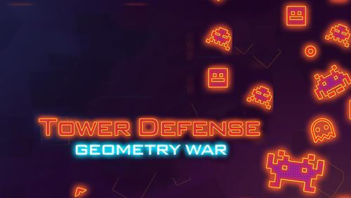 Tower defense: Geometry war screenshot 1