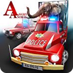 Angry animals: Police transport Symbol