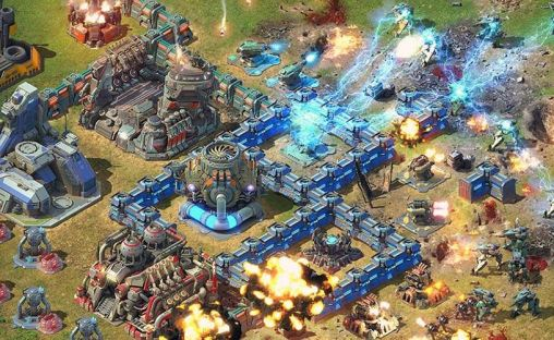 Online Strategy games Battle for the galaxy in English