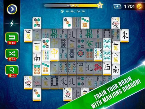 Logik Mahjong solitaire Dragon für das Smartphone