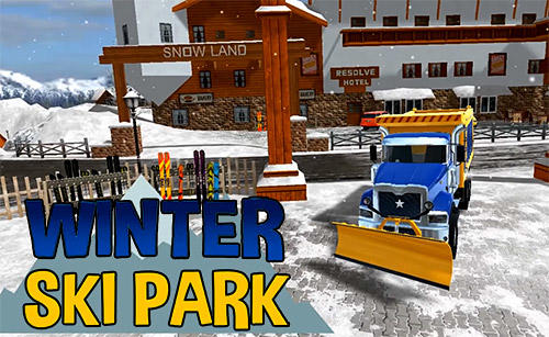 Winter ski park: Snow driver capturas de pantalla