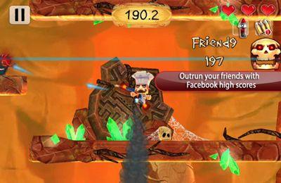 Screenshot Volcano Escape on iPhone