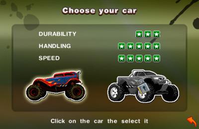 Аркады игры: скачать Stunt Car Racing 99 Tracks на телефон