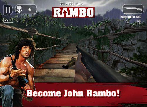 Captura de tela Rambo no iPhone