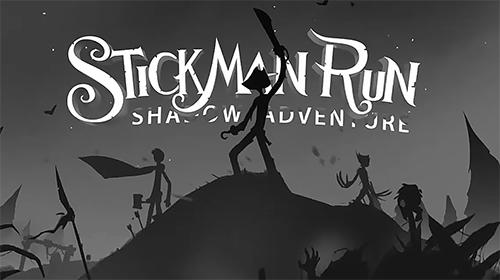 Stickman run: Shadow adventure captura de pantalla 1