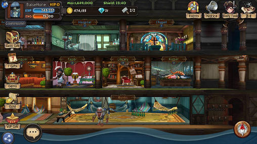 Pirate games Rage of the seven seas in English