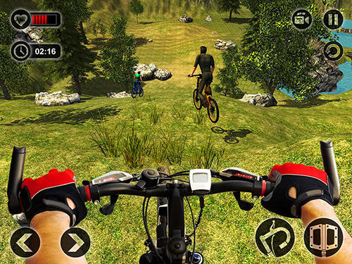 Uphill offroad bicycle rider para Android