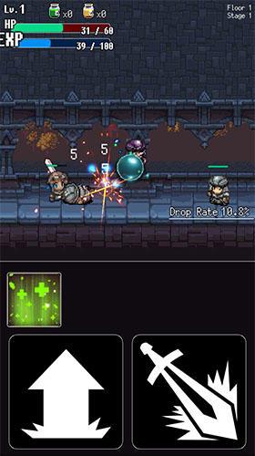 Hack and slash hero: Pixel action RPG para Android