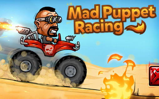 Mad puppet racing: Big hill Screenshot