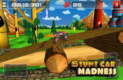 Аркады игры: скачать Stunt Car Madness на телефон