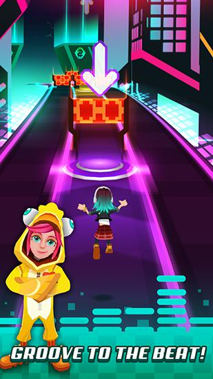 Pop dash: Music runner para Android