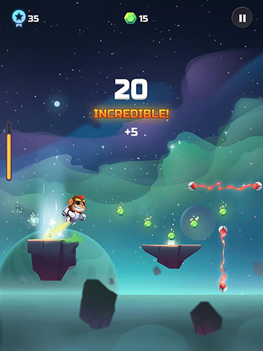 Cosmo bounce: The craziest space rush ever! für Android