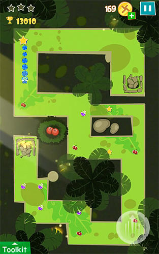 Strange snake game: Puzzle solving for Android