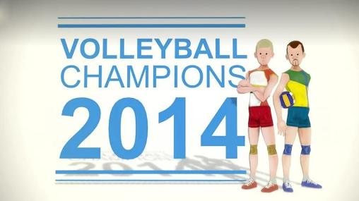 Volleyball champions 3D 2014 скриншот 1