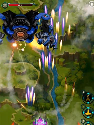 Flugspiele Sky invaders reloaded auf Deutsch