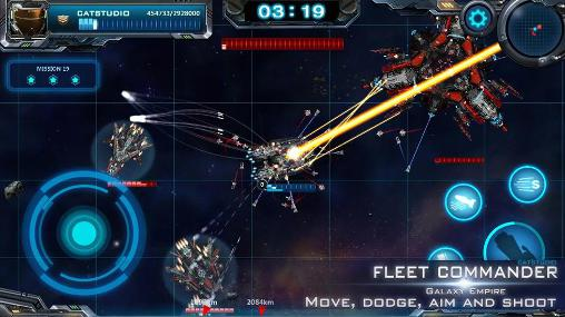 Fleet commander for Android