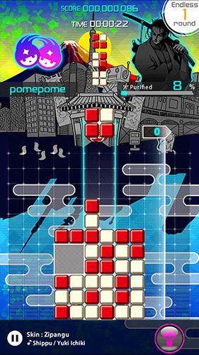 Arcade-Spiele: Lade Lumines: Puzzle und Musik auf dein Handy herunter