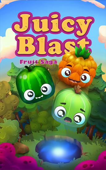 Juicy blast: Fruit saga Screenshot