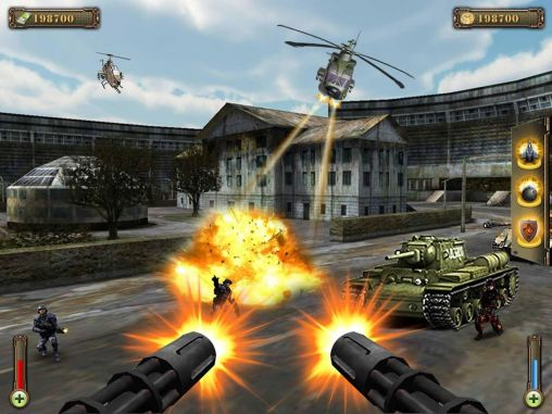 Gunship counter shooter 3D pour Android