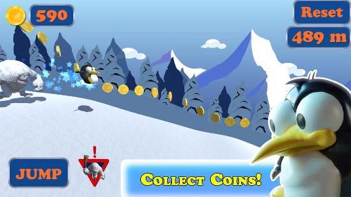 Juegos de arcade Peik the penguin para teléfono inteligente