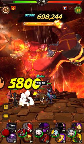 RPG Hello hero: Epic battle für das Smartphone