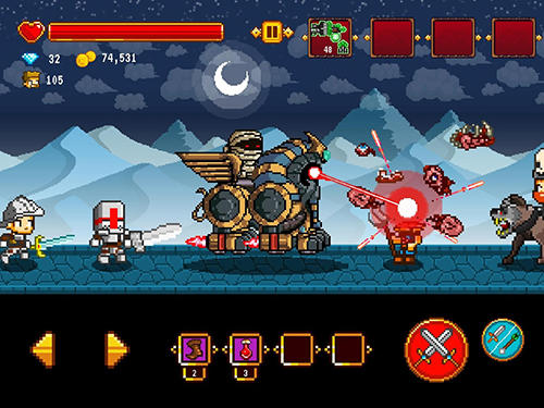 Dracula, Frankenstein and Co vs the villagers para Android