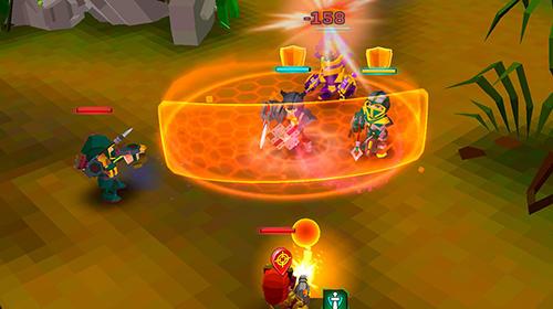 Pixel wars: MMO action Screenshot