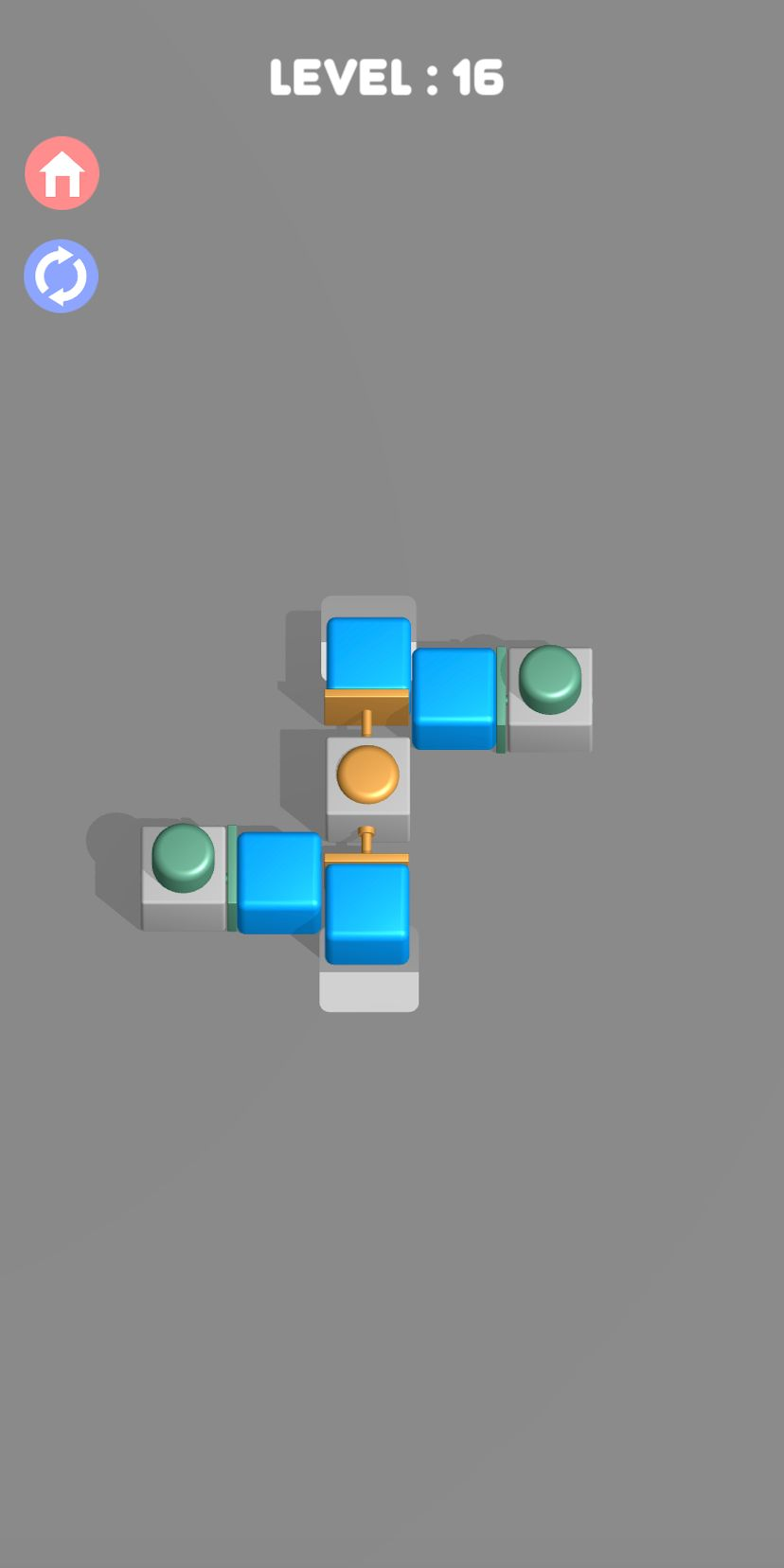 Push them all 3D - Smart block puzzle game para Android
