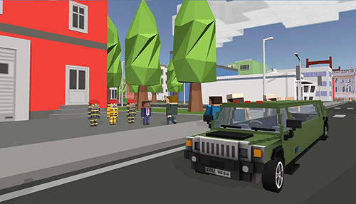 Mr. Blocky White House driver screenshot 4