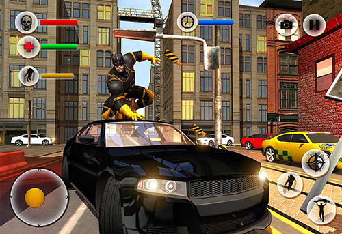 Super Panther flying hero city survival для Android