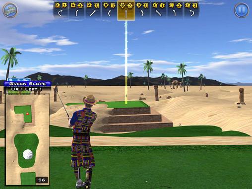 Golden tee: Mobile screenshot 1