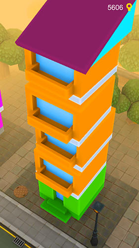 Aufbau-Spiele Royal tower: Clash of stack auf Deutsch