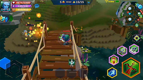 Pixel wars: MMO action für Android