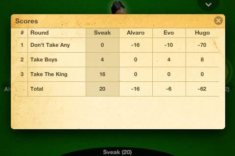 Screenshot Der König auf dem iPhone