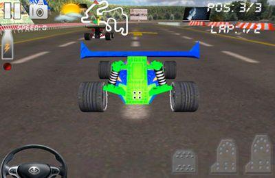 Circuito de carrera 2 - Las mejore buggy-competiciones 3D en español