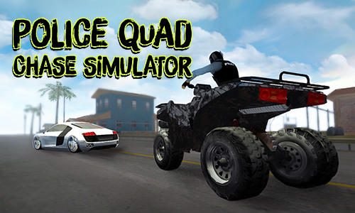 Police quad chase simulator 3D screenshot 1