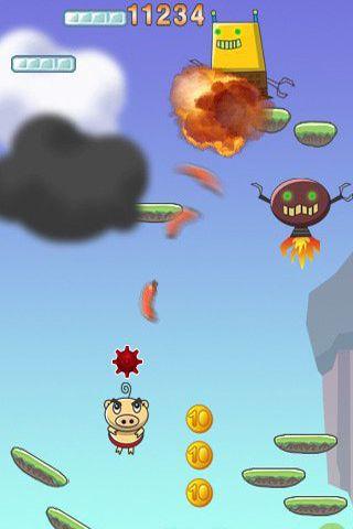 Jogos de arcade: faça o download de Porco Saltador para o seu telefone